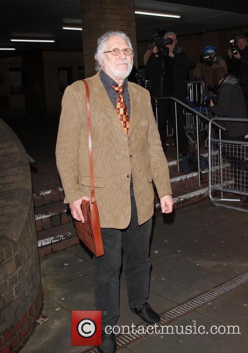 Dave Lee Travis leaves Southwark Crown Court