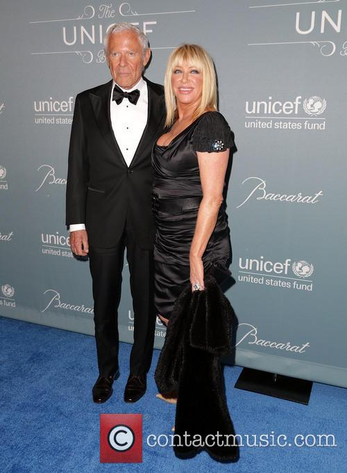 alan hamel suzanne somers 2014 unicef ball 4025300