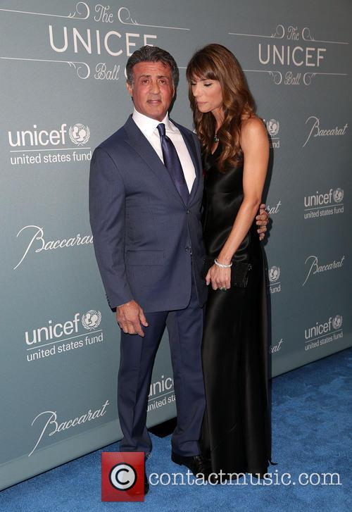 Sylvester Stallone and Jennifer Stallone 2