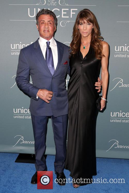 Sylvester Stallone and Jennifer Stallone 5