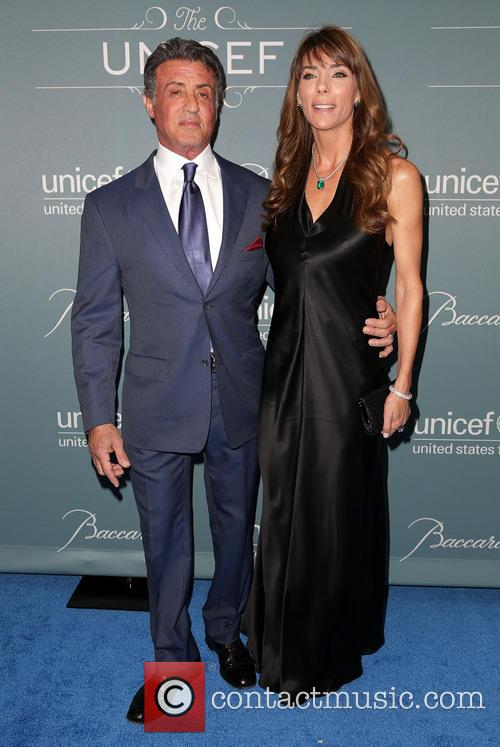 Sylvester Stallone and Jennifer Stallone 6