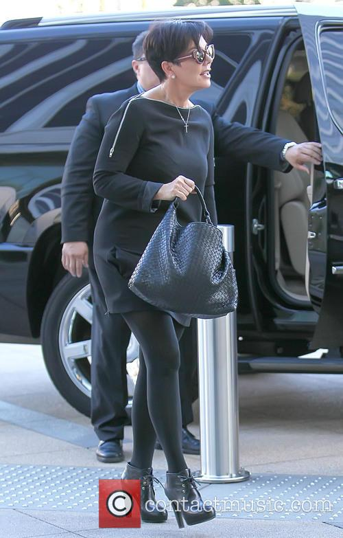 Kris Jenner goes to a business meeting