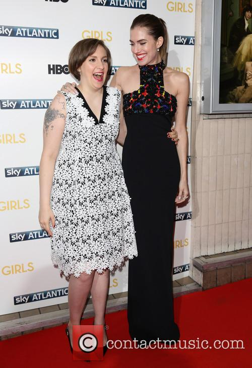 Lena Dunham and Allison Williams 3