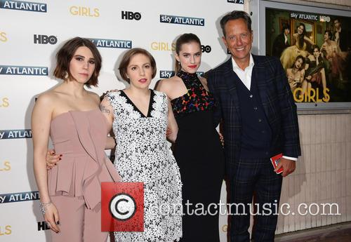 Zosia Mamet, Lena Dunham, Allison Williams and Richard E Grant 5
