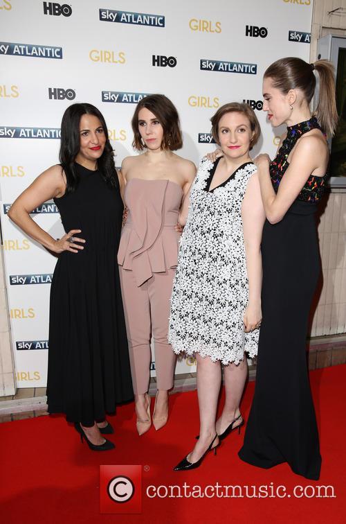 Jenni Konner, Zosia Mamet, Lena Dunham and Allison Williams 1