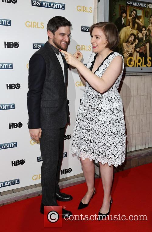 Lena Dunham and Evan Jonigkeit 11