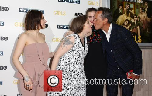 Zosia Mamet, Lena Dunham, Allison Williams and Richard E. Grant 11