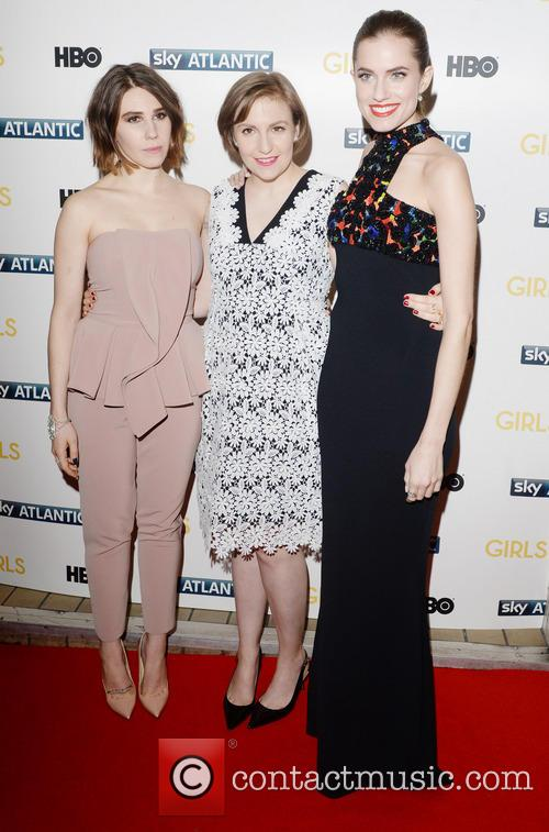 Lena Dunham, Alison Williams and Zosia Mamert 4