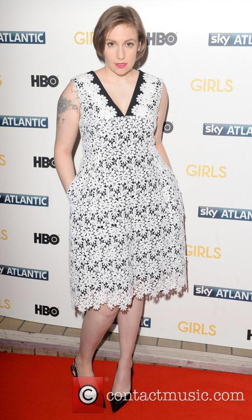 Lena Dunham, Girls UK Premiere