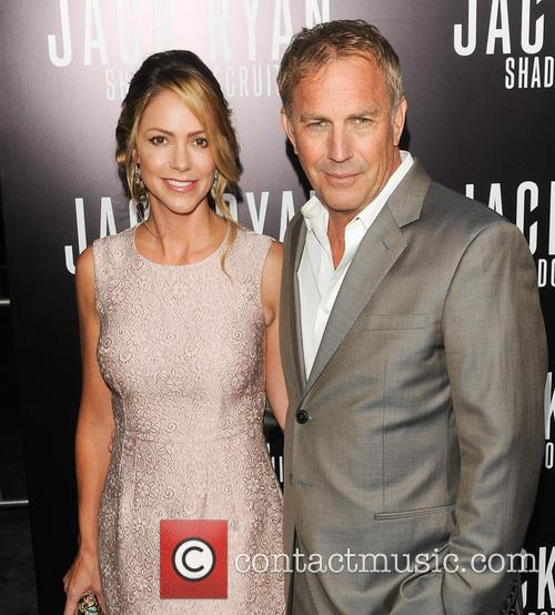 Kevin Costner, Christine Baumgartner and Jack Ryan 5