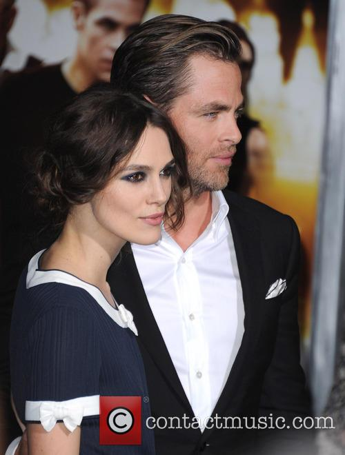 Keira Knightley and Chris Pine