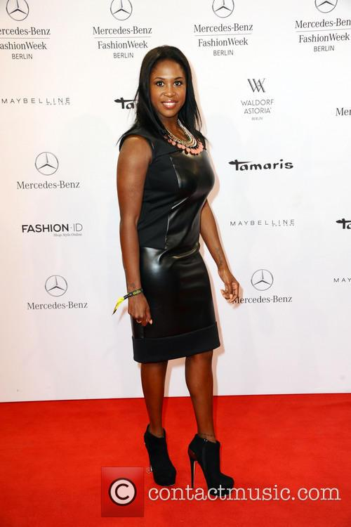 motsi mabuse mercedes benz fashion week minx arrivals and front row 3 pictures. Black Bedroom Furniture Sets. Home Design Ideas
