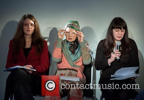 Vivienne Westwood press conference