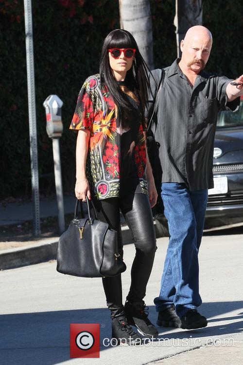Jessie J heads the recording studio