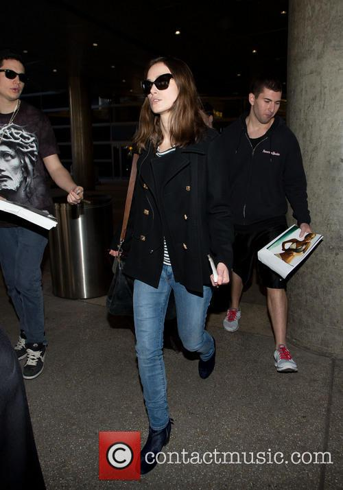 Keira Knightley at LAX