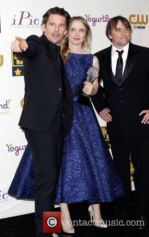 Ethan Hawke, Julie Delpy and Richard Linklater 4