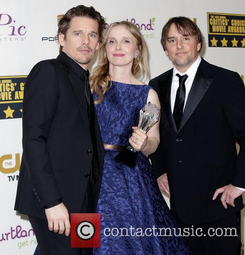 Ethan Hawke, Julie Delpy and Richard Linklater 6