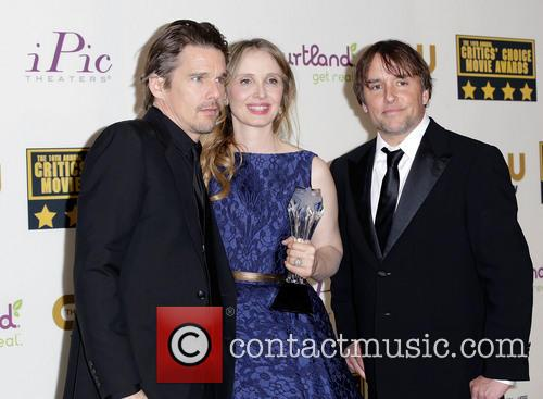 Ethan Hawke, Julie Delpy and Richard Linklater 7
