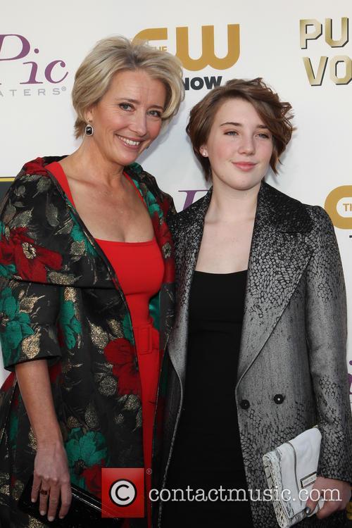 Emma Thompson and Gaia Wise