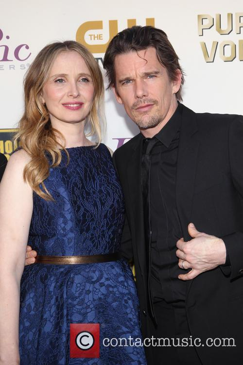 Julie Delpy, Ethan Hawke, The Barker Hangar, Critics' Choice Awards