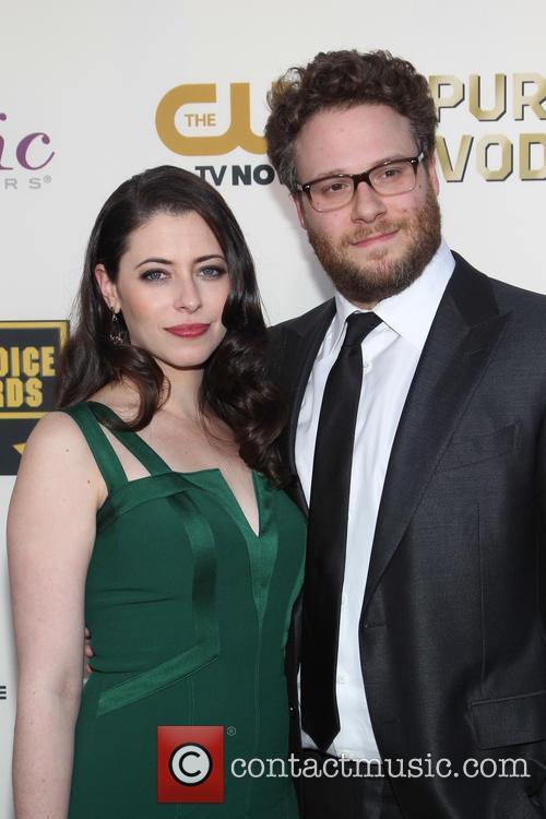 Lauren Miller, Seth Rogen, Critics Choice Awards