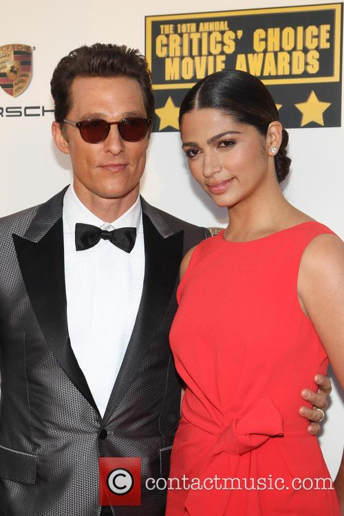 Matthew Mcconaughey and Camila Alves 10