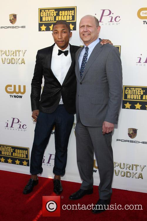 Pharrell Williams and Christopher Meledandri 6