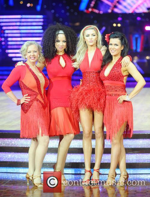 Abbey Clancy, Susanna Reid and Natalie Gumede 4