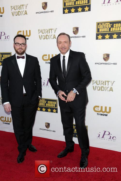 Dana Brunetti and Kevin Spacey 2