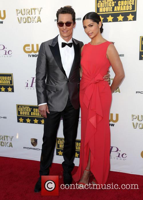 Matthew Mcconaughey and Camila Alves 11