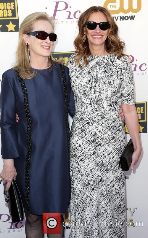 Meryl Streep and Julia Roberts 10