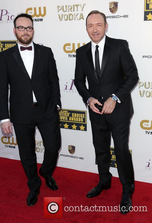 Dana Brunetti and Kevin Spacey
