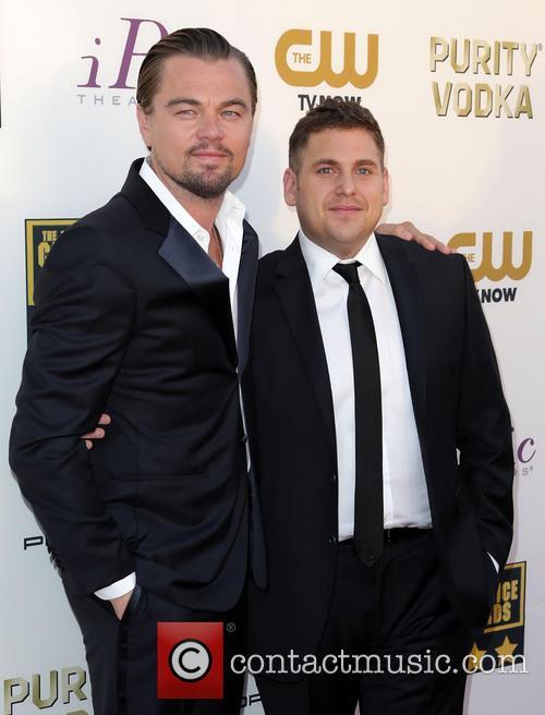 Leonardo DiCaprio, Jonah Hill, The Barker Hangar, Critics' Choice Awards