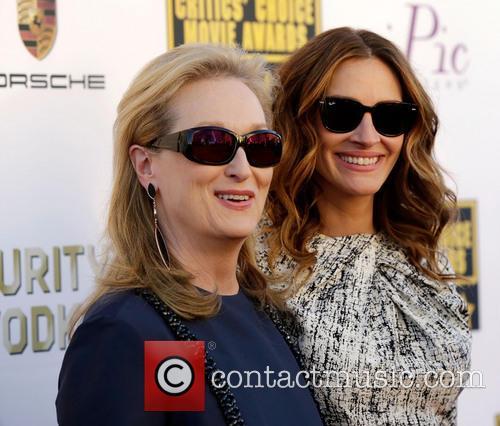 Meryl Streep, Julia Roberts, The Barker Hangar, Critics' Choice Awards