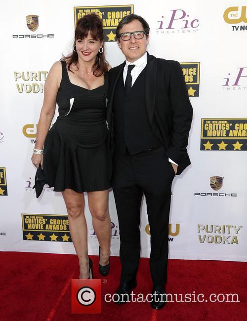 Carrie Keagan and Aaron Sorkin 2