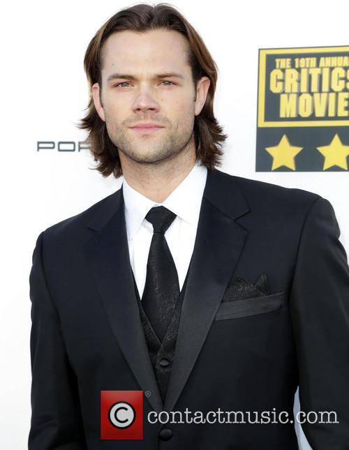 Jared Padalecki, star of Supernatural  at the Critics Choice Awards