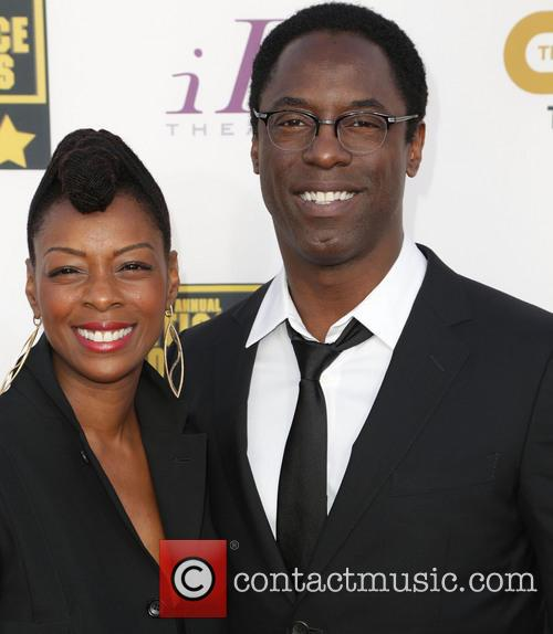 Jenisa Marie Garland and Isaiah Washington 2