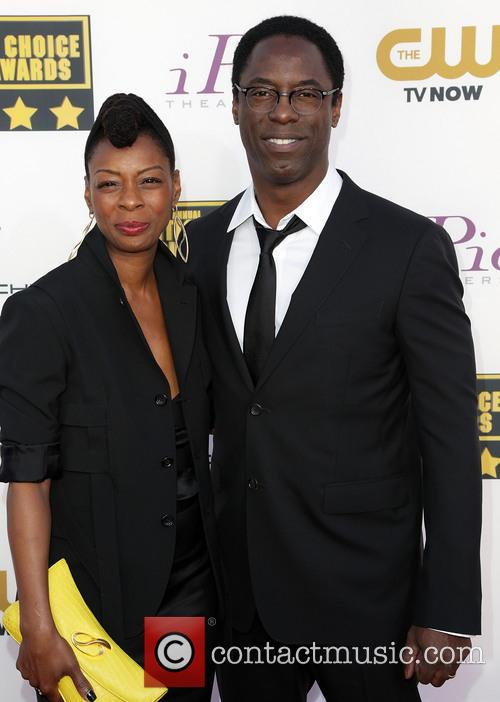 Jenisa Marie Garland and Isaiah Washington 1