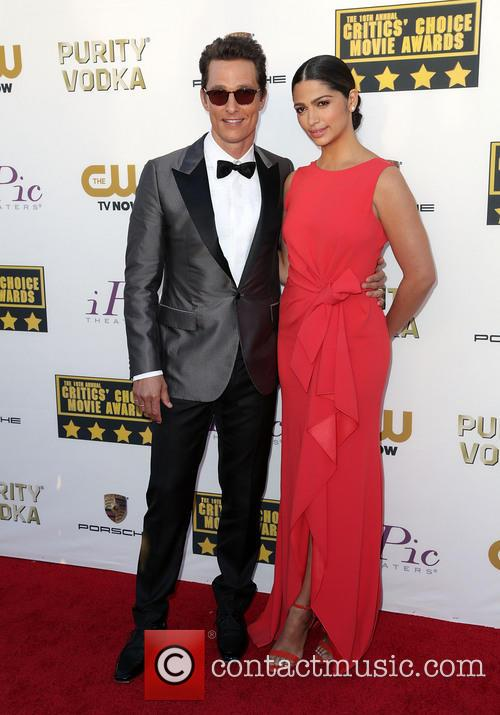 Matthew McConaughey and Camila Alves 8