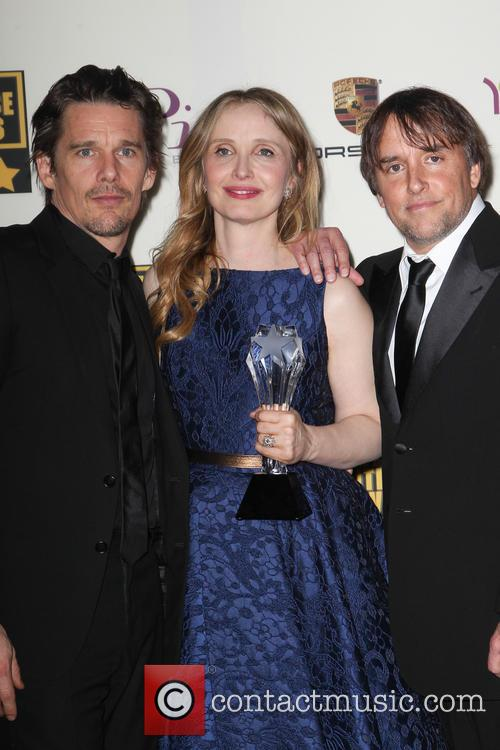 Ethan Hawke, Julie Delpy and Richard Linklater 2
