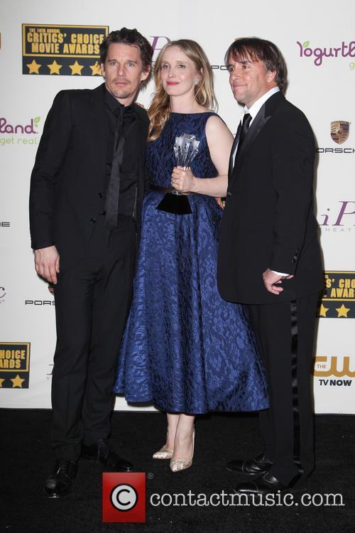 Ethan Hawke, Julie Delpy and Richard Linklater 3