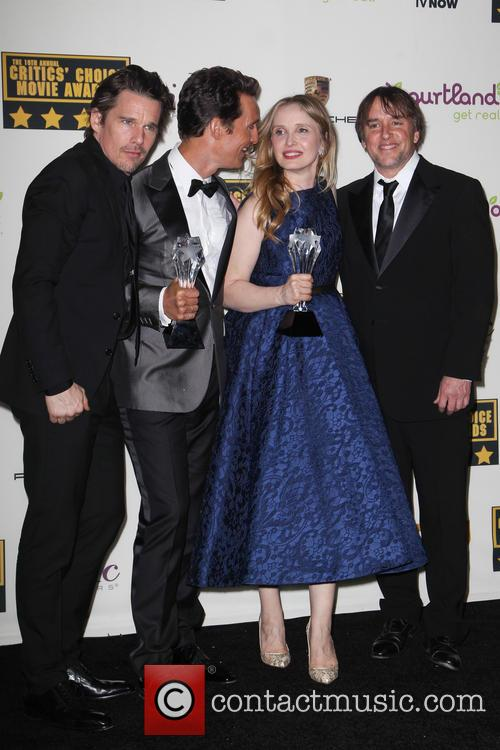 Ethan Hawke, Julie Delpy and Richard Linklater 1