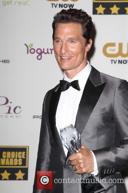 Matthew McConaughey, The Barker Hangar, Critics' Choice Awards