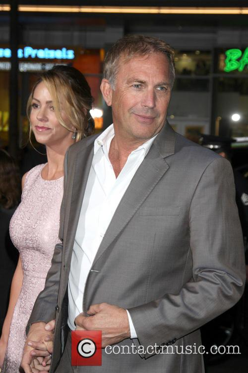 Kevin Costner and Christine Baumgartner 2