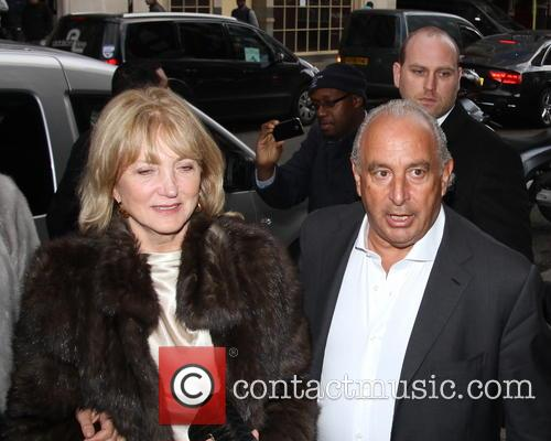 Philip Green and Kate Moss 2