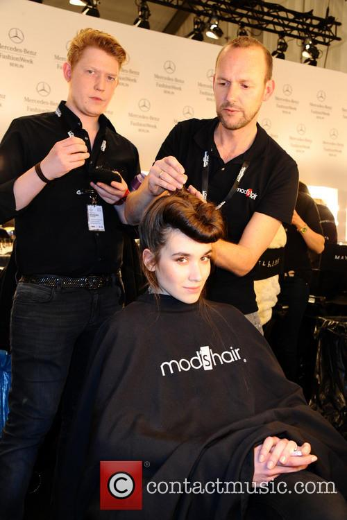 Mercedes Benz Fashion Week - Glaw - Backstage
