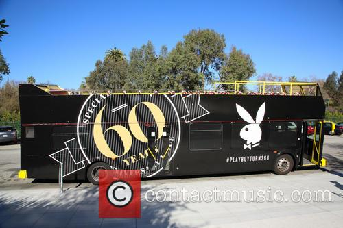 Playboy Celebrates 60th Anniversary with 60 Bunnies Bus Tour