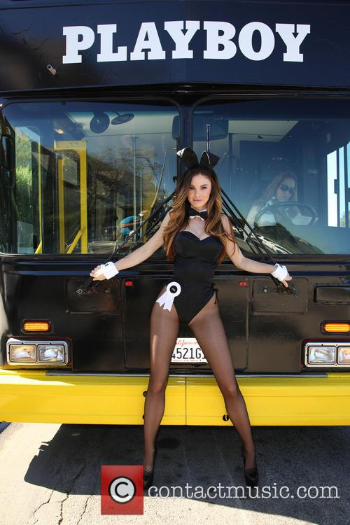 Playboy Celebrates 60th Anniversary with 60 Bunnies Bus...