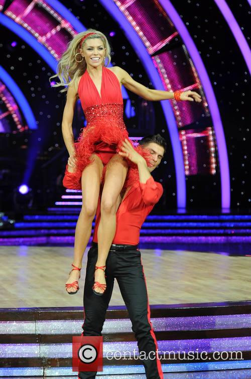 Abbey Clancy and Aljaz Skorjanec 1