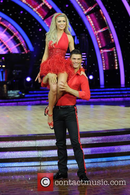 Abbey Clancy and Aljaz Skorjanec 3